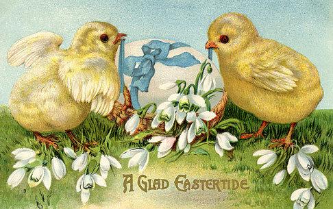Ett påskkort